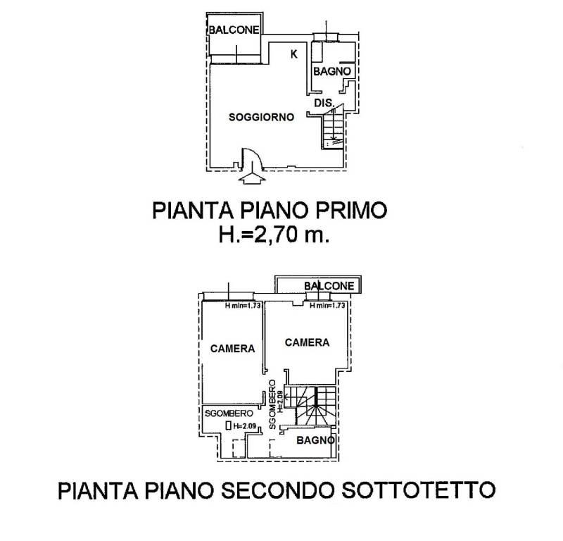 foto ABITAZIONE 3-room flat via Salvo D'Acquisto, Luisago