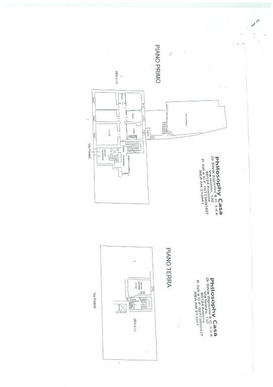 foto plan Appartamento via Francesco Podesti, Ancona