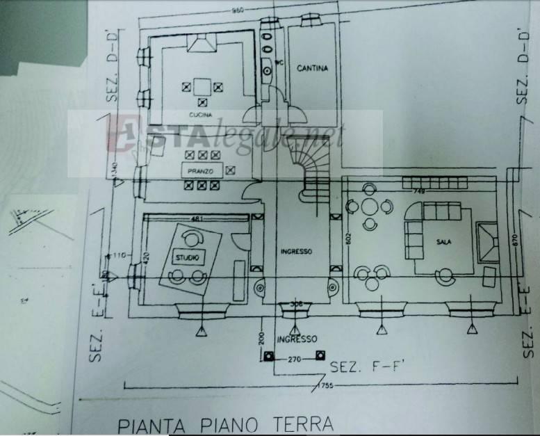 foto  Villa all'asta Località Trebbio 3, Vallefoglia