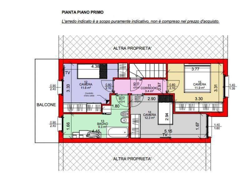 foto  Terraced house via F  Nullo 16, Costa Volpino