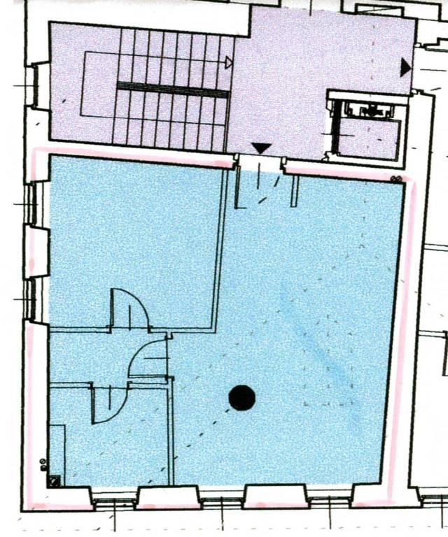 foto planimetria 2-room flat excellent condition, top floor, Dolcè