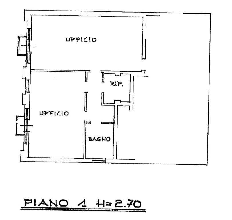 foto piano primo Office for Sale