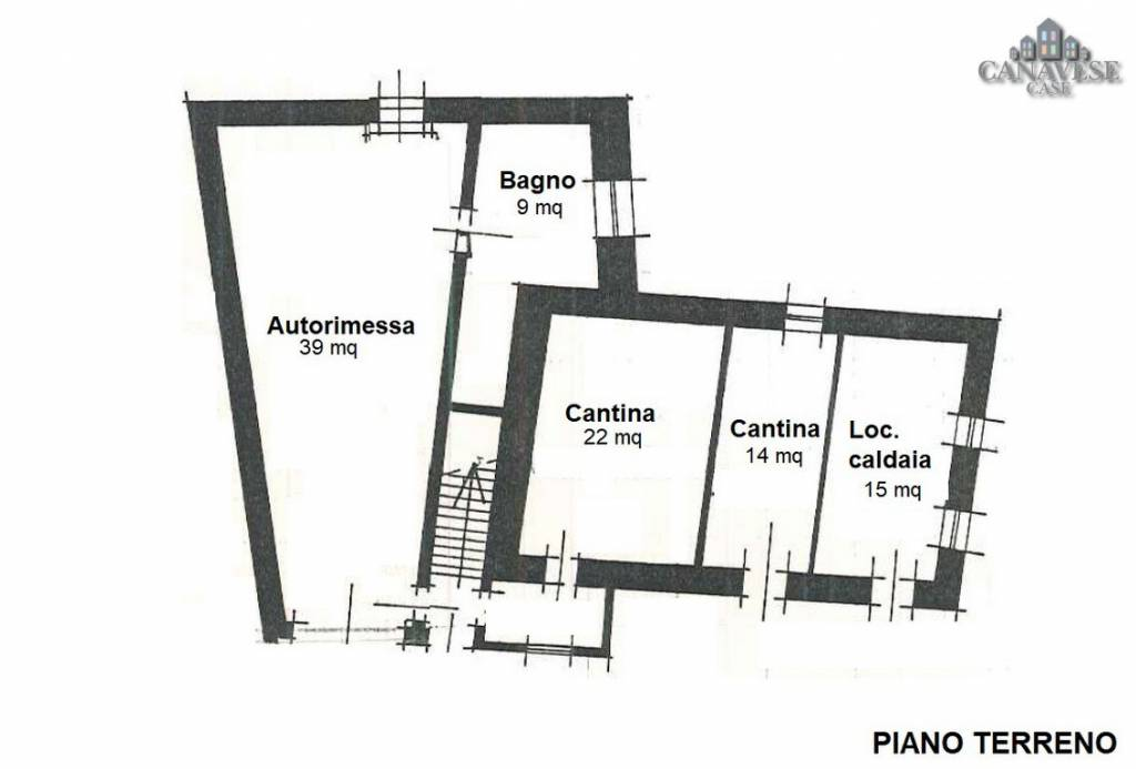 foto piantina Detached house via Camillo Benso di Cavour 48, Strambinello