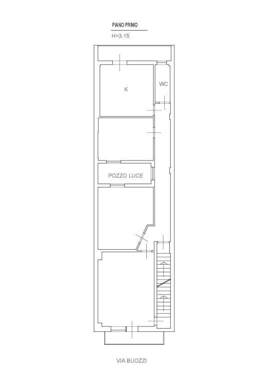 foto  3-room flat via Bruno Buozzi 7, Monteiasi