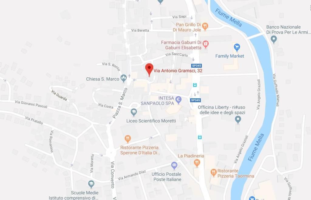 foto Mappa Negozio in Affitto a Gardone Val Trompia