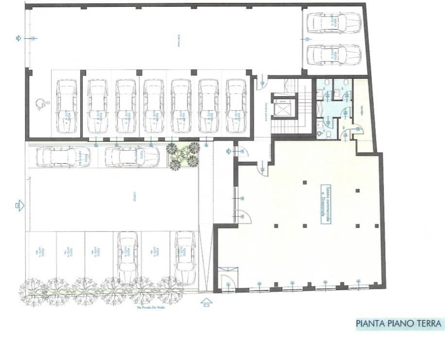 foto Planimetria Ufficio in Affitto a Brescia