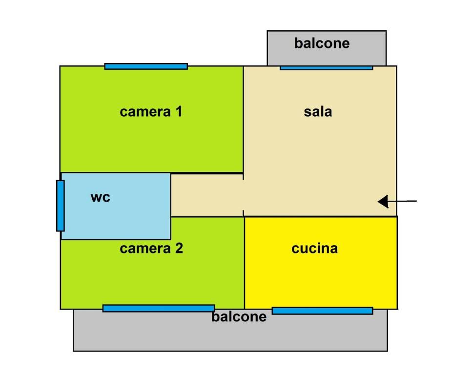 foto  Quadrilocale via Pollenzo 4, Fossano