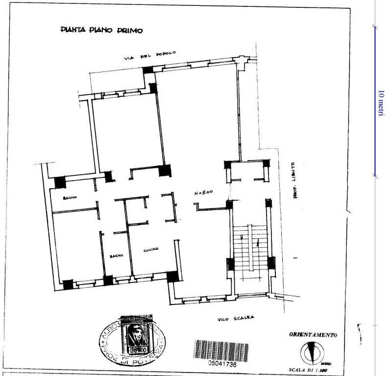 foto  Dreizimmerwohnung Vico Giuseppe Scalea 10, Potenza