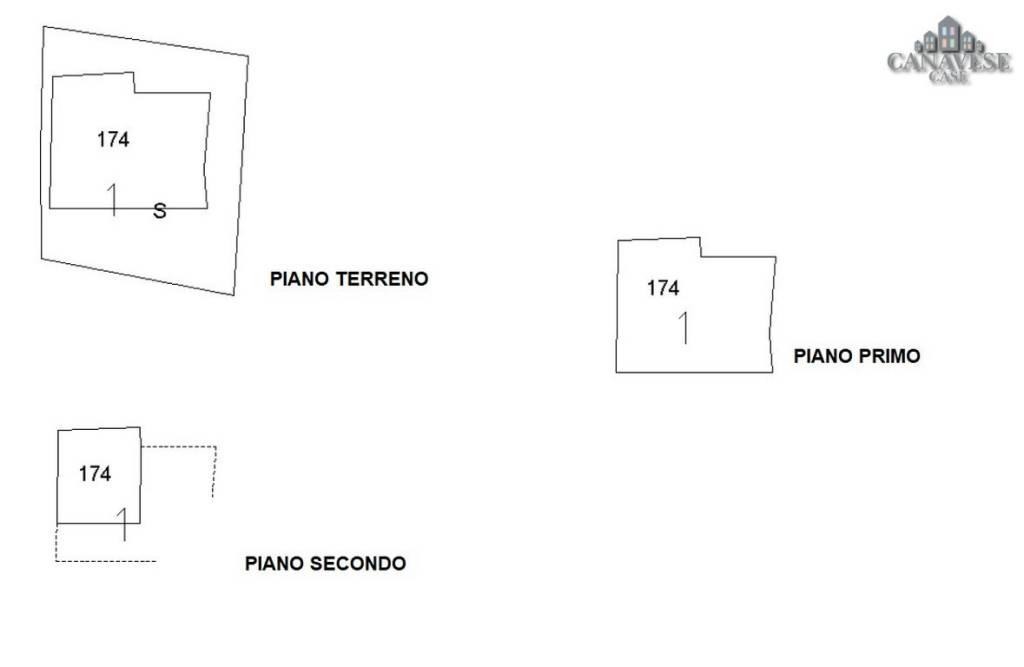 foto piantina Rustico via Carpen, Issiglio