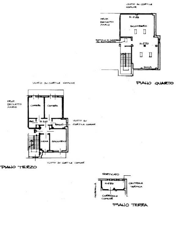 foto Planimetria 4-room flat via Stazione, 52, Manta