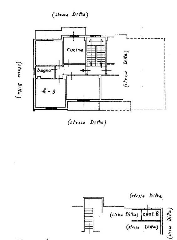 foto ultimo piano Trilocale via caramagnetta, 10, Imperia