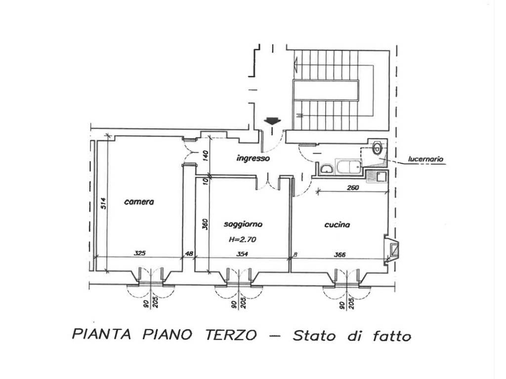 foto  2-room flat via Roma 12, Lecco