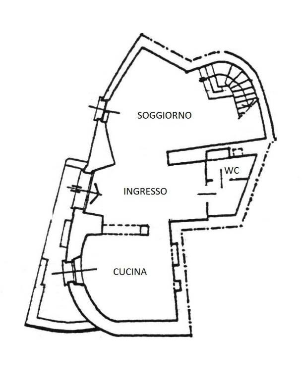 foto  Detached house via Maggiore, Rezzago