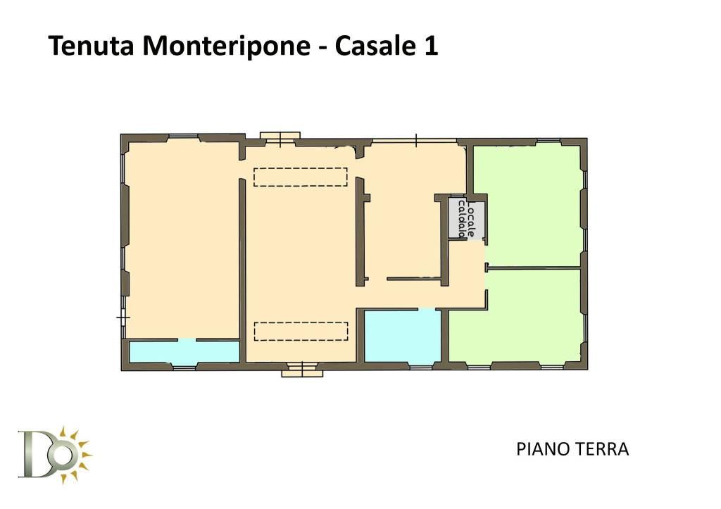 foto Casale - piano terra Villa unifamiliare Strada Provinciale Fiano Civitella, Nazzano