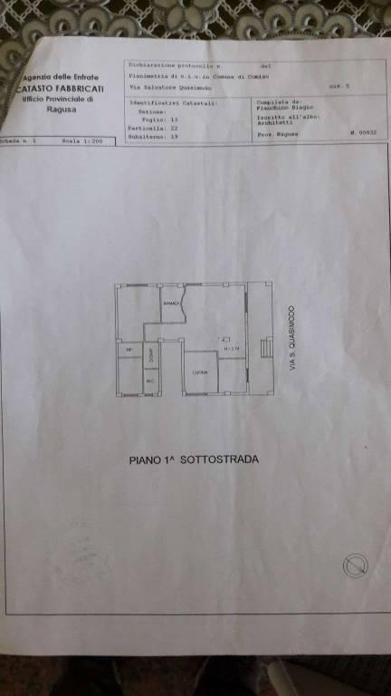foto  4-room flat via Salvatore Quasimodo 7, Comiso