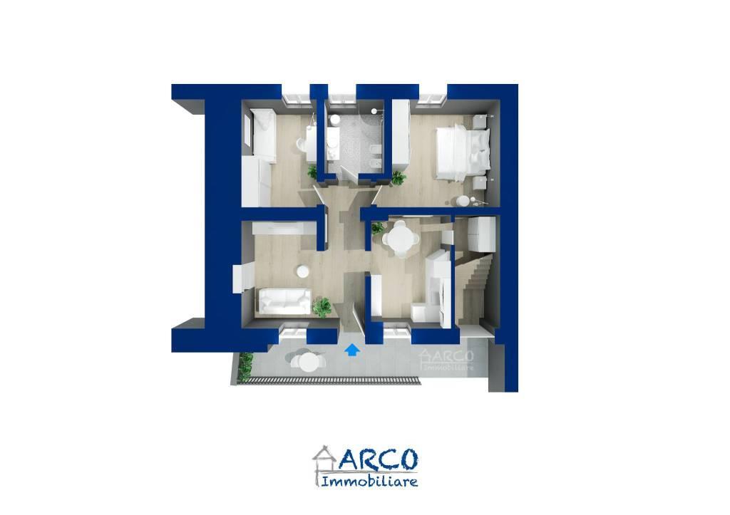 foto  Trilocale da ristrutturare, secondo piano, Arco