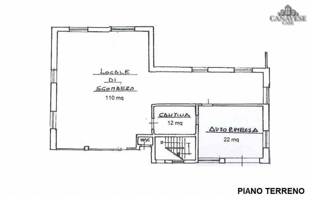foto piantina Detached house via Provinciale 1, Quagliuzzo
