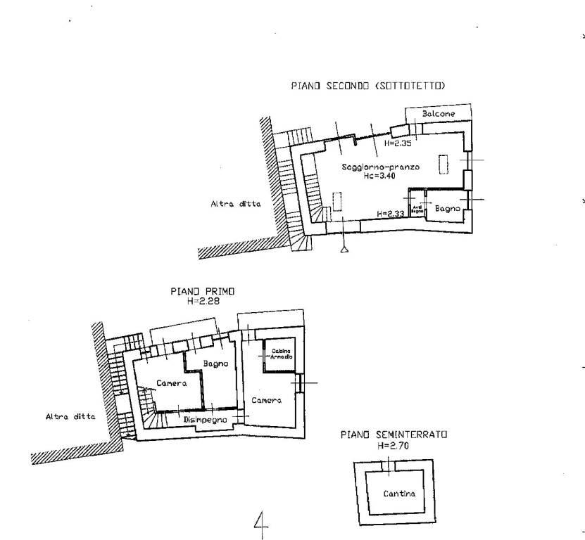 foto P1- P2 SOTTOTETTO Two-family villa, excellent condition, 140 sq.m., Arvier