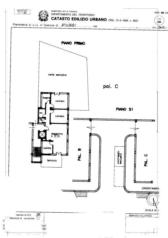 foto  4-room flat good condition, ground floor, Fiuggi