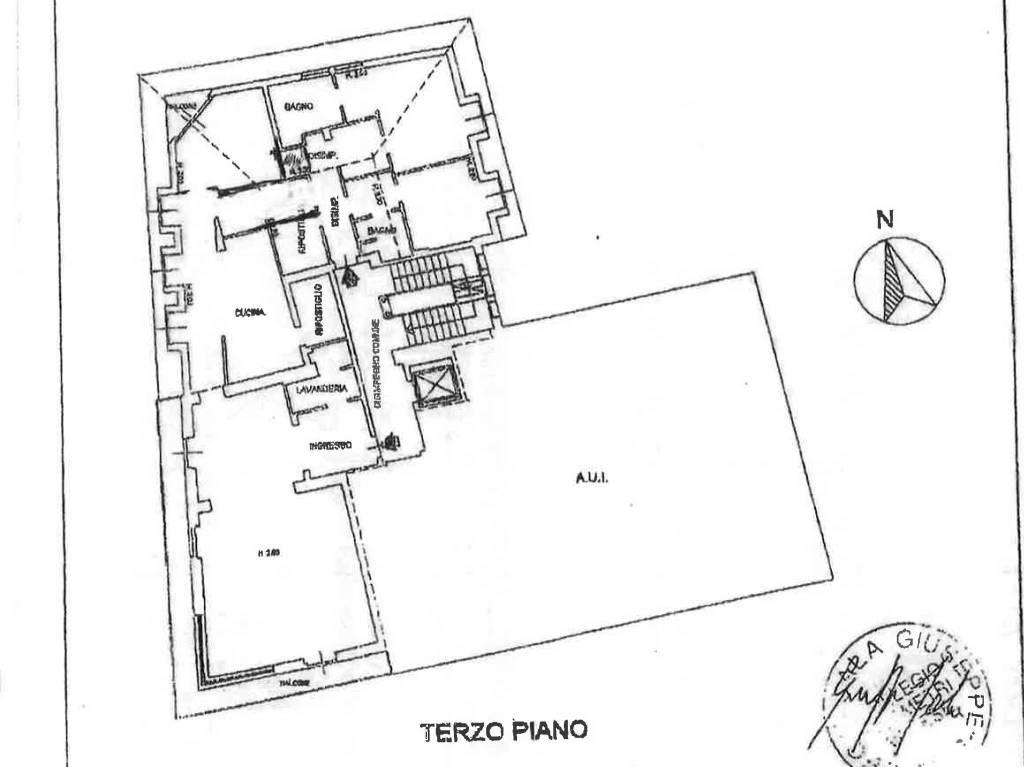 foto Planimetria Appartamento viale del Santuario, Varese