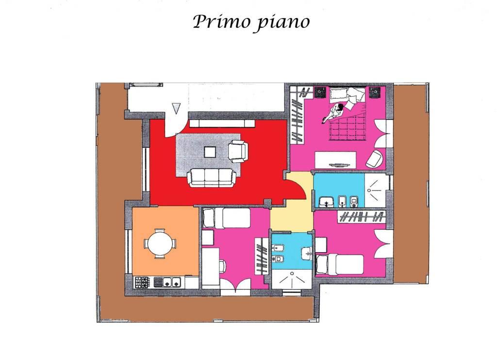 foto PRIMO PIANO Quadrilocale via Torquato Tasso, Saviano