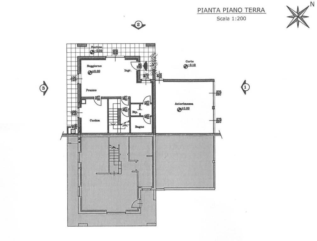 foto pianta1 Villa bifamiliare via Roma, Vaprio d'Agogna