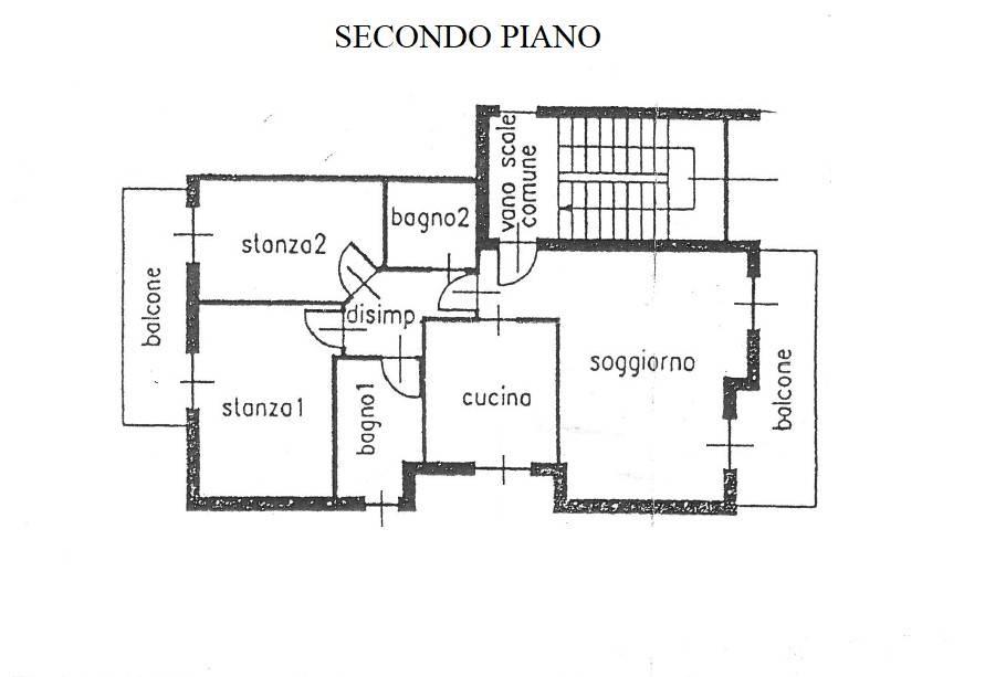 foto Appartamento Trilocale buono stato, secondo piano, Arco