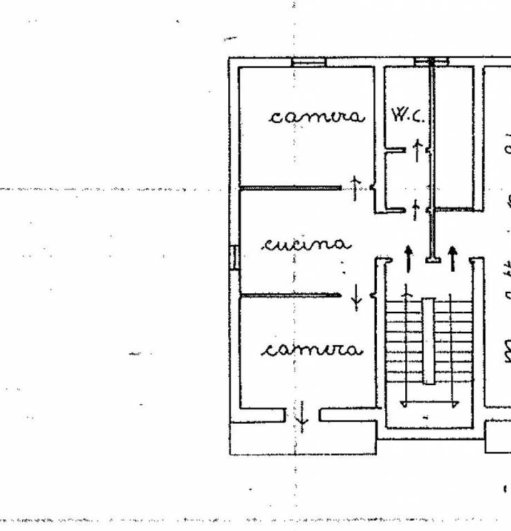 foto appartamento Trilocale da ristrutturare, secondo piano, Paciano