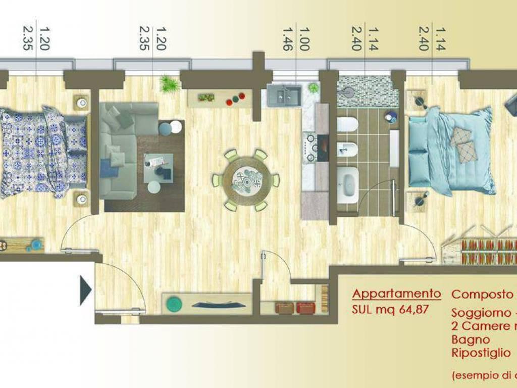 Vendita appartamento firenze trilocale in via di ripoli ottimo
