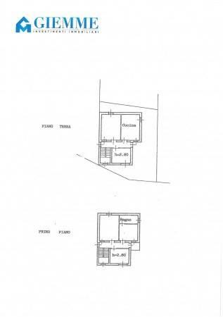 foto planimetria Single family villa via Molino della Resiga 6, Fontaneto d'Agogna
