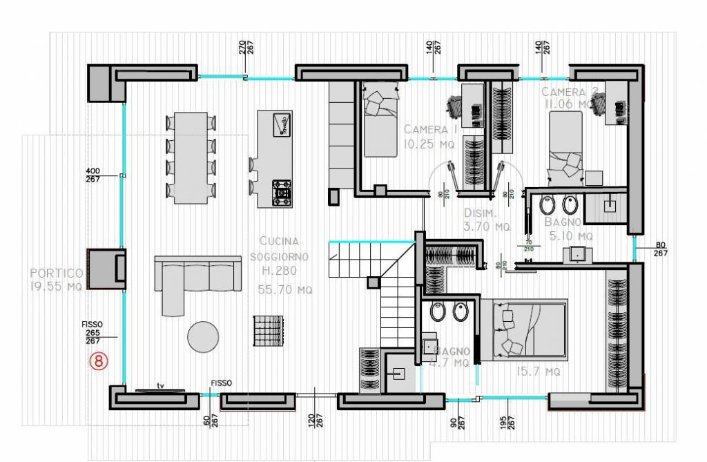 foto  Villa unifamiliare, nuova, 226 mq, Iseo