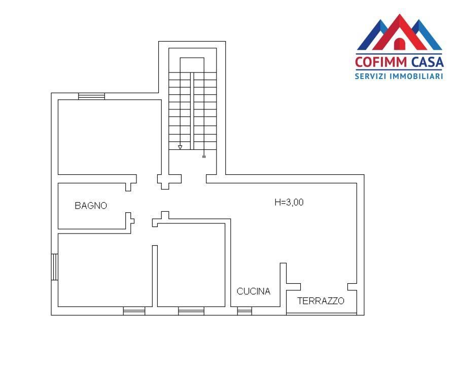 foto planimetria 4-room flat via Torino, Sora