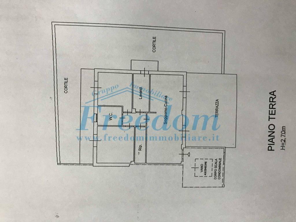 foto Planimetria 3-room flat via Giovanni Pascoli, Belpasso