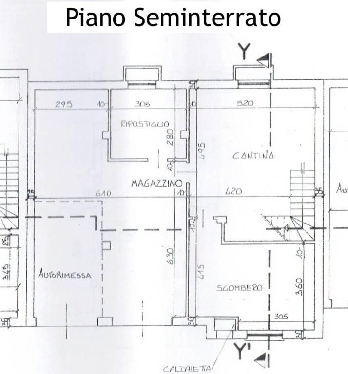 foto Plan. P. Seminterrato Villa a schiera, nuova, Boves