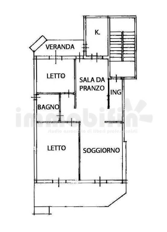 foto planimetria Appartamento ottimo stato, secondo piano, Oria