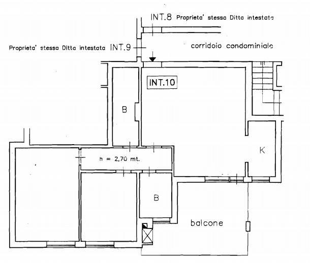 foto Planimetria Detached house 280 sq.m., good condition, Albosaggia