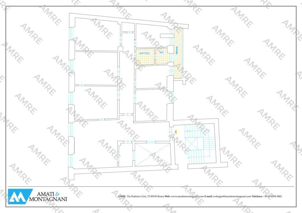 foto planimetria Ufficio in Affitto