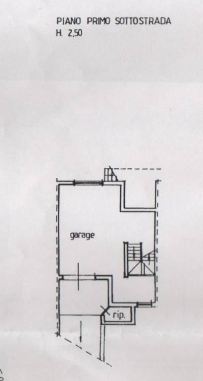 foto planimetria Villa unifamiliare, buono stato, 190 mq, Nereto