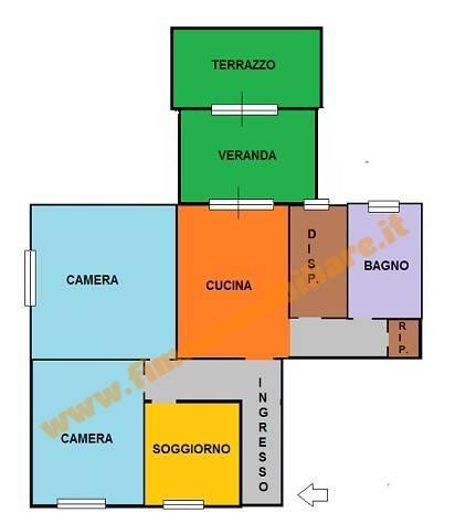 foto  Quadrilocale buono stato, secondo piano, Savona