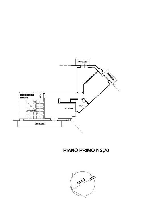 foto abitazione 3-room flat via Forlivese, Dicomano