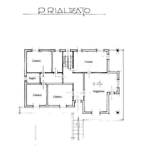 foto Piano rialzato Single family villa, excellent condition, 191 sq.m., Rodigo