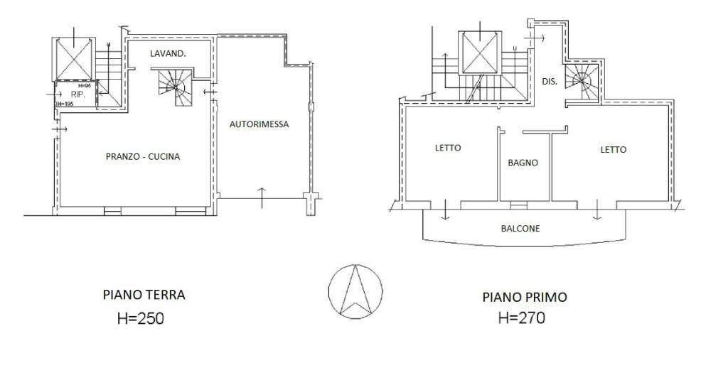 foto Planimetria 3-room flat via Gilberto D  Govi, Cavriago
