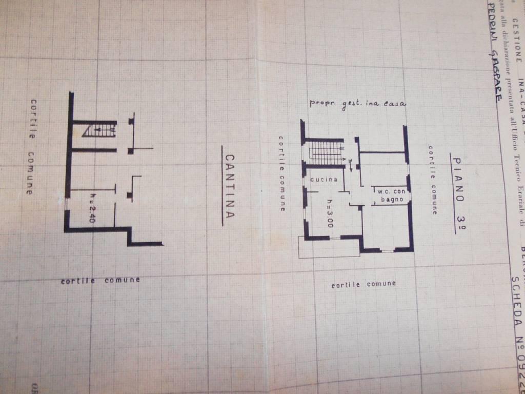 foto SCHEDA CATASTALE 3-room flat via Don Pietro Bonetti 45, Gorlago