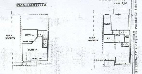 foto  Terraced house via 13 Aprile 27, Bibbiena