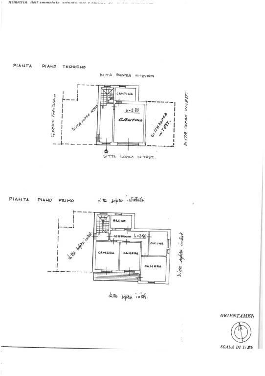 foto planimetria Detached house via Alcide De Gasperi 8, Govone