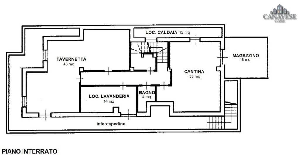 foto planimetria Multi-family townhouse via Torino 3, Favria