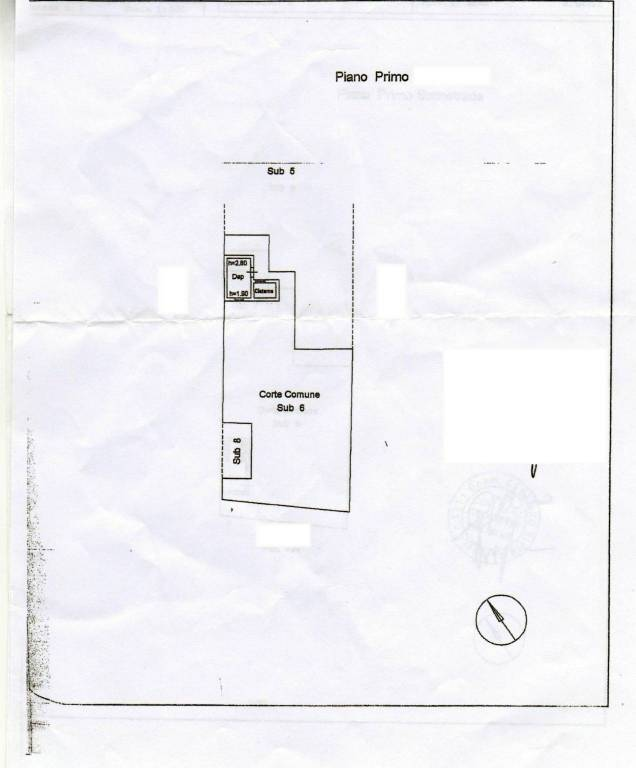 foto Planimetria 1 Historisches Haus via Acquafredda, Maratea