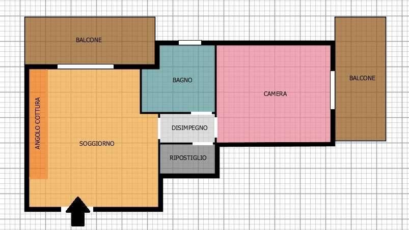 foto  2-room flat via Colombara 4, Colturano