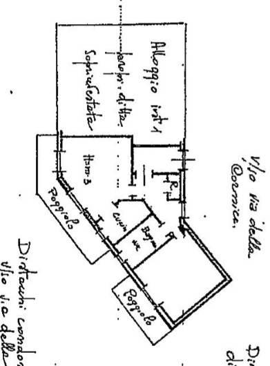 foto piantina alloggio Bilocale via Ranzi 1, Pietra Ligure