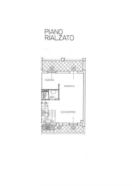 foto piano terra Villa a schiera via Enrico Fermi, Lurago d'Erba